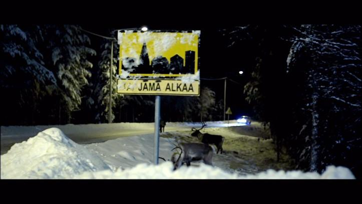 Image 1. Screenshot Jämä alkaa from Lapland Odyssey, 2010. Even more typically Finnish is the fondness for dark humour.