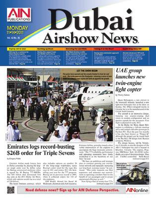 Day 3 October 9 October 16 2015 AIN AIRSHOW RATES combined with AIN Monthly, AIN Convention News dailies and Business Jet Traveler BLACK & WHITE (per issue) # of issues 1 6