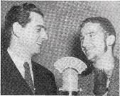 CONFUSION among radio's Andy Whites has been rampant for many years in the Arizona region. Andy White at left is baritone with War - ing's Pennsylvanians.