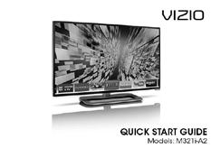 INPUT LIST EXIT BACK VOL 3D 1 2 3 4 5 6 7 8 9 ENTER 0 MENU INFO GUIDE CH PACKAGE CONTENTS VIZIO LED HDTV with Stand