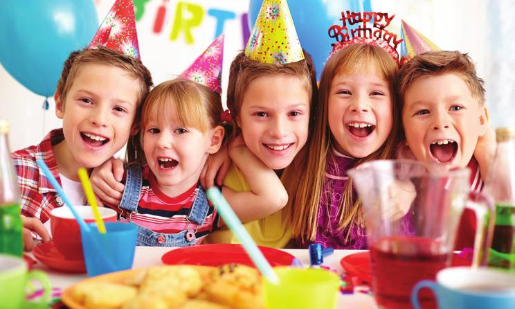 BIRTHDAY PARTIES at the Shoreview Community Center Have your next party at the Tropics Indoor Waterpark!