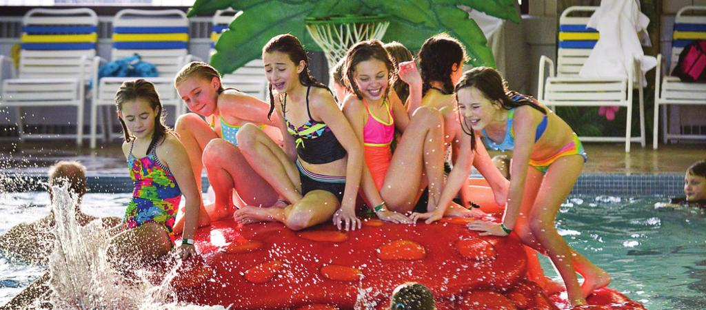 Party options include party rooms, activity rooms, poolside party room, park shelters, and after hours parties! POOLSIDE PARTY ROOM - FAN FAVORITE!