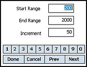 7. RANGE CARD Range Card Display ATrag2X and MX can present come-up (hold over) results in the form of a Range Card (RC) display.
