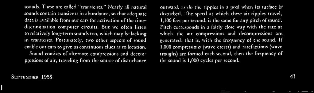 frequency of the sound.