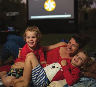 In 2019, the program will be on the road between March and early June, with an outdoor cinema popping up under the stars, amongst popular hot spots, iconic