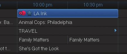 Step 1: Pick a Program Find any episode of the series you want to record. Highlight the program listing and press OK.
