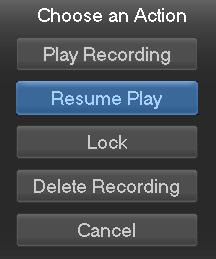 A screen will appear giving you a choice to either Keep this Recording (highlighted) or Delete this Recording. Click OK on the highlighted Keep this Recording.