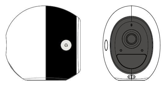 1. PRODUCT DESCRIPTION DCS-2800LH is a battery powered network camera for consumer SOHO surveillance application.