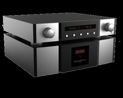 This dual-monaural preamplifier utilizes a two-chassis approach to isolate the critical analog audio circuitry from the control section, resulting in the purest signal paths possible.