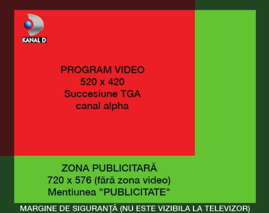-the PROGRAM VIDEO zone must be with