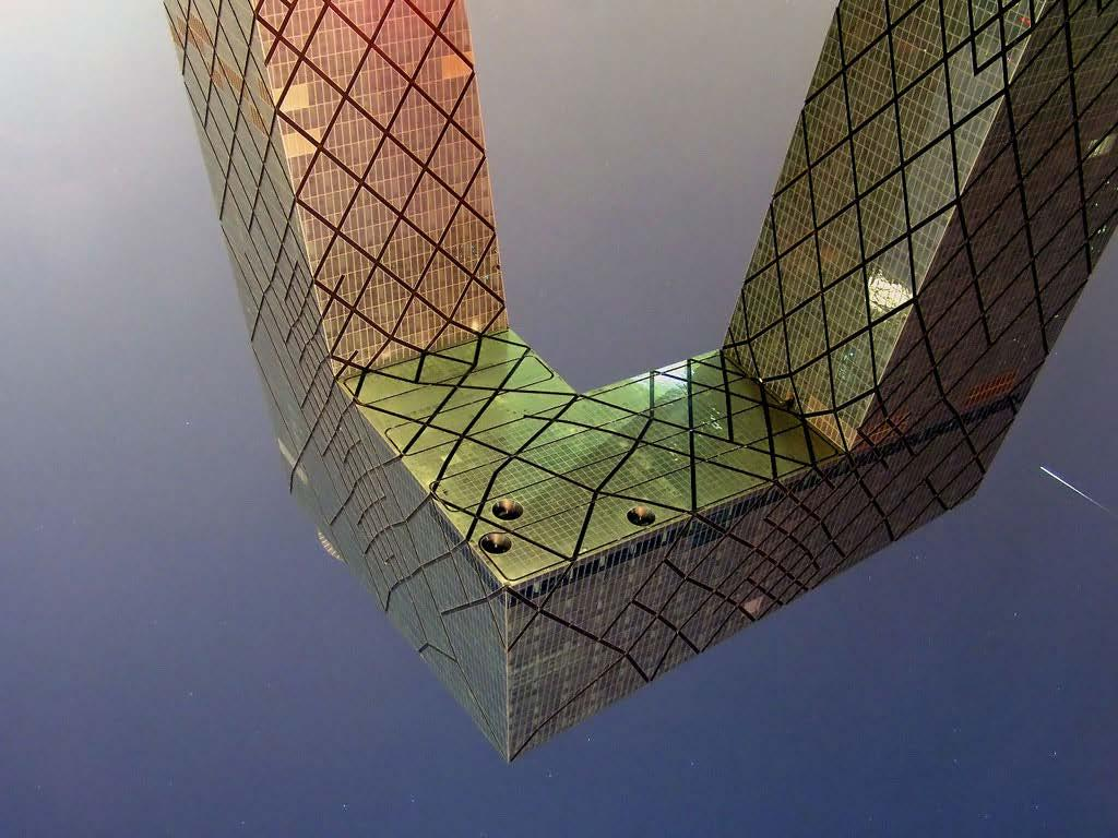 "Matthews - Victimary Thinking, Celebrity, CCTV Building The ""Overhang"" and structure of the CCTV Building, July 2009 _Dmitry Fironov Perhaps the last takes too greater licence, but it is certainly"