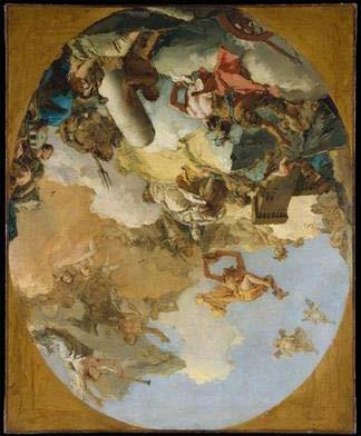 Sackeroff - Ends of Deferral Giovanni Battista Tiepolo The Apotheosis of the Spanish Monarchy Study [81.6 x 66.