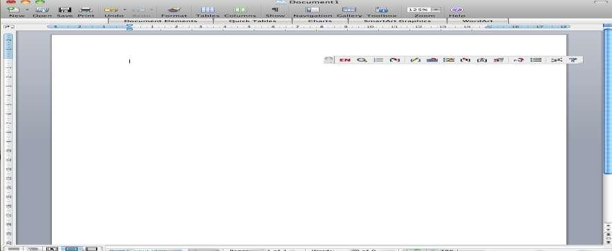 16 Format Bibliography and Insert Selected Citation(s) icons Figure 6: Word 2008 on a Macintosh with EndNote toolbar In Word 2003 or Mac, click on the Insert Selected Citation(s) icon in the EndNote