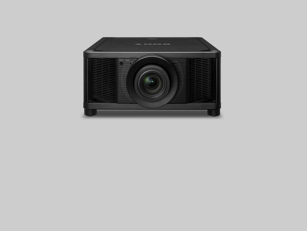 VPL-VW5000ES Laser 4K HDR 5,000 lm The reference projector for large home cinemas Spectacular Brightness and Native 4K Clarity The VPL-VW5000ES brings movies to life with extraordinary cinematic