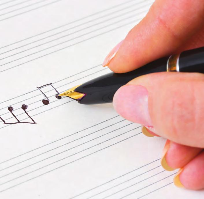 Composers Writing music is