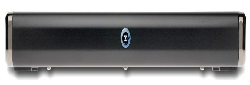 Getting Started ZvBox 150 Front Panel LED / IR Item Description Function LED /IR Zv Status / IR in out Signals the activity of ZvBox 150 Acts as a window for receiving and emitting IR codes ZvBox 150