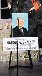 Since then, Harold was highly instrumental in the spread of barbershop singing in Florida s school districts.