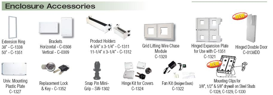 enclosures and accessories is
