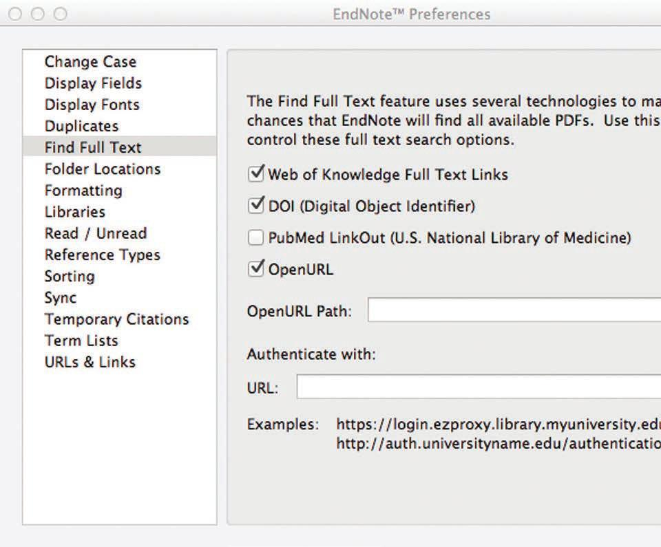 DID YOU KNOW...? ENDNOTE CAN FIND THE FULL TEXT ARTICLE FOR YOU.