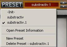 5 Preset Management 5.1 Main Toolbar In the toolbar you can find two buttons, Bank and Preset, with two associated text fields.