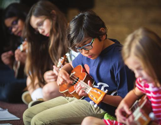 CHILD & YOUTH PROGRAMS AGES 6-12 YEARS SUMMER MUSIC DAY CAMPS Stay tuned (get it?) for more information on Winspear Centre Summer Camps for 2019!