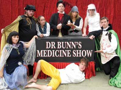 Concerts Exhibitions Children s Theatre Dr Bunn s Travelling Medicine Show Dr Bunn is full of crafty schemes to sell his famous elixir!