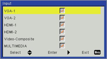 User Controls Options For successful logo capture, please ensure that the onscreen image does not exceed the projector s native resolution. (WXGA:1280x800).