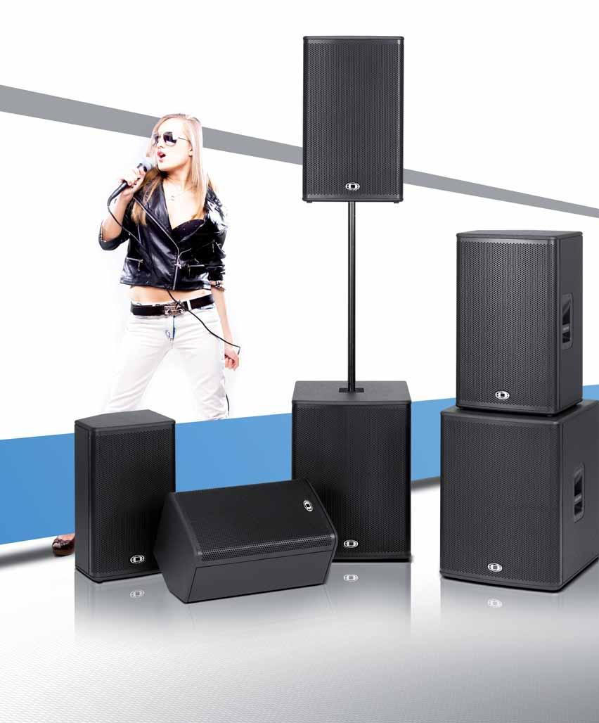 A Line Loudspeaker System Mobile Audio Concert Sound Fixed Speaker Portable Pa Addons Bob 12 Inch 3 Mic Wireless Digital Family