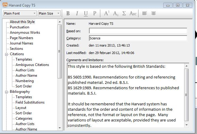 Bibliographic styles style manager Your Endnote program installation comes with a selection of bibliographic styles, or output styles available.