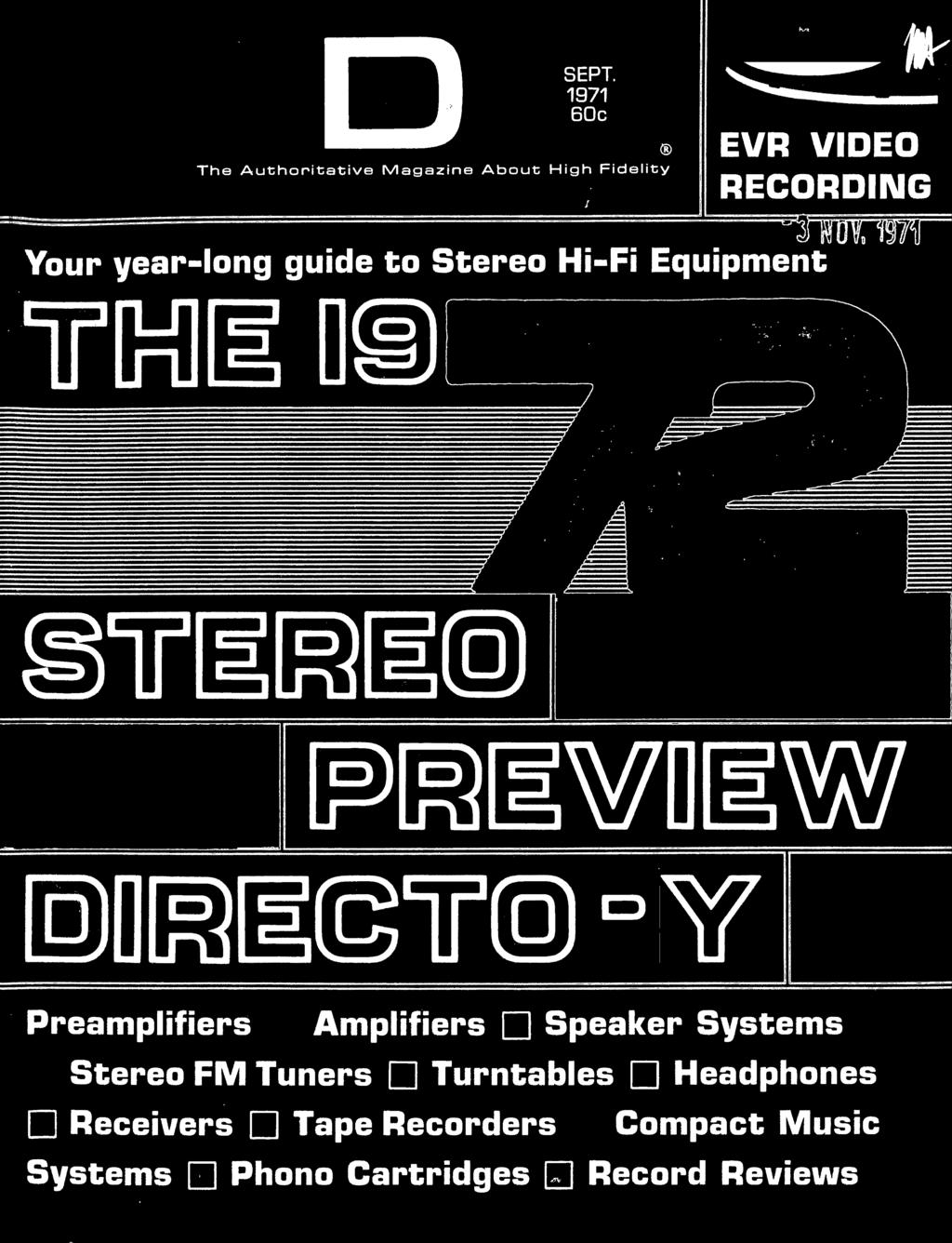 The Authoritative Magazine About High Fidelity Ew0 W Mm Stereo Remington 870 Parts Diagram Lzk Gallery Fm Tuners 11 Turntables Headphones Eceivers Tape