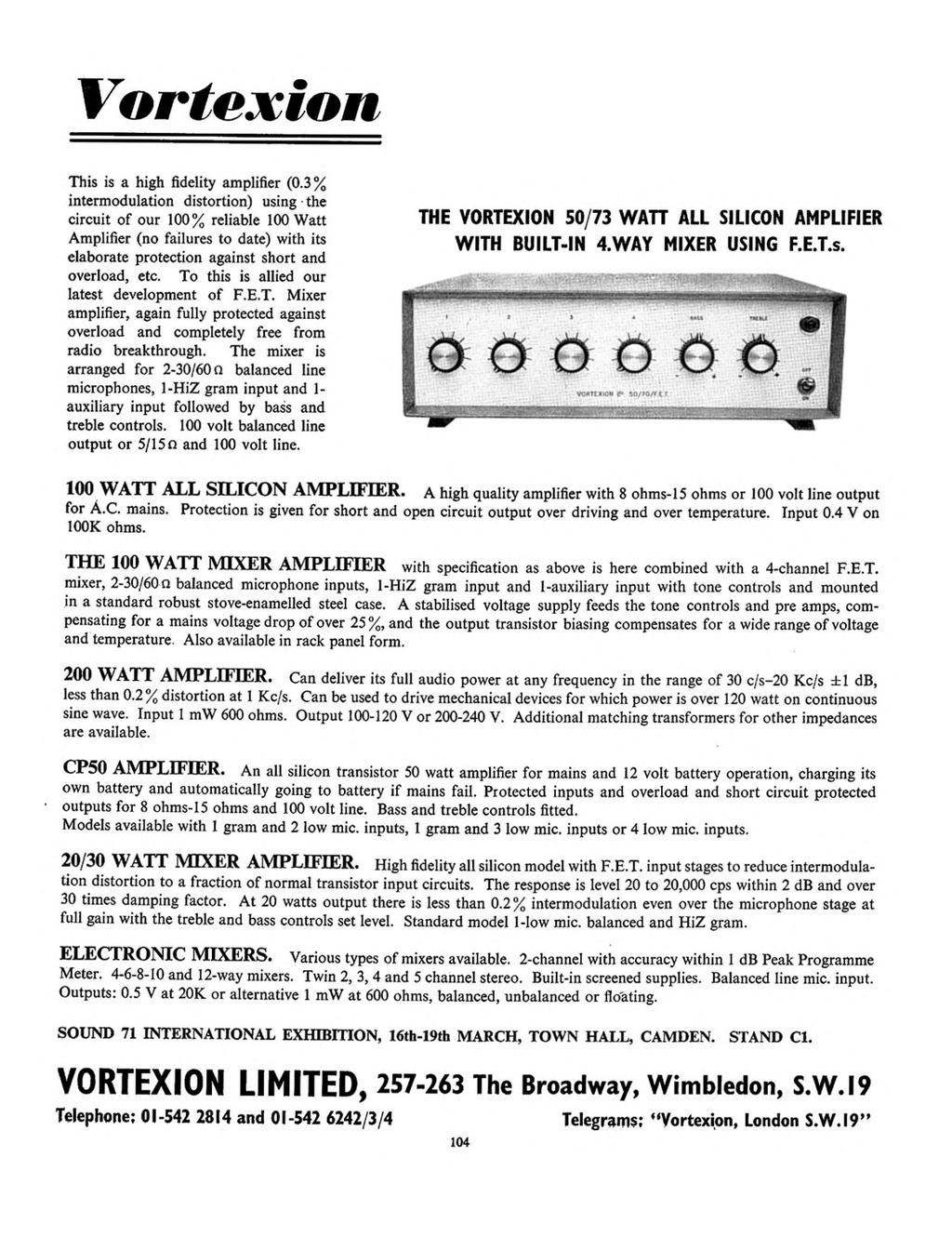 Why Coincident Microphones Inside Gemini High Quality Mixer Li Reversing A Motor4 See 1 2 3 In 200 Transistor Circuits Vortexion This Is Fidelity Amplifier 0
