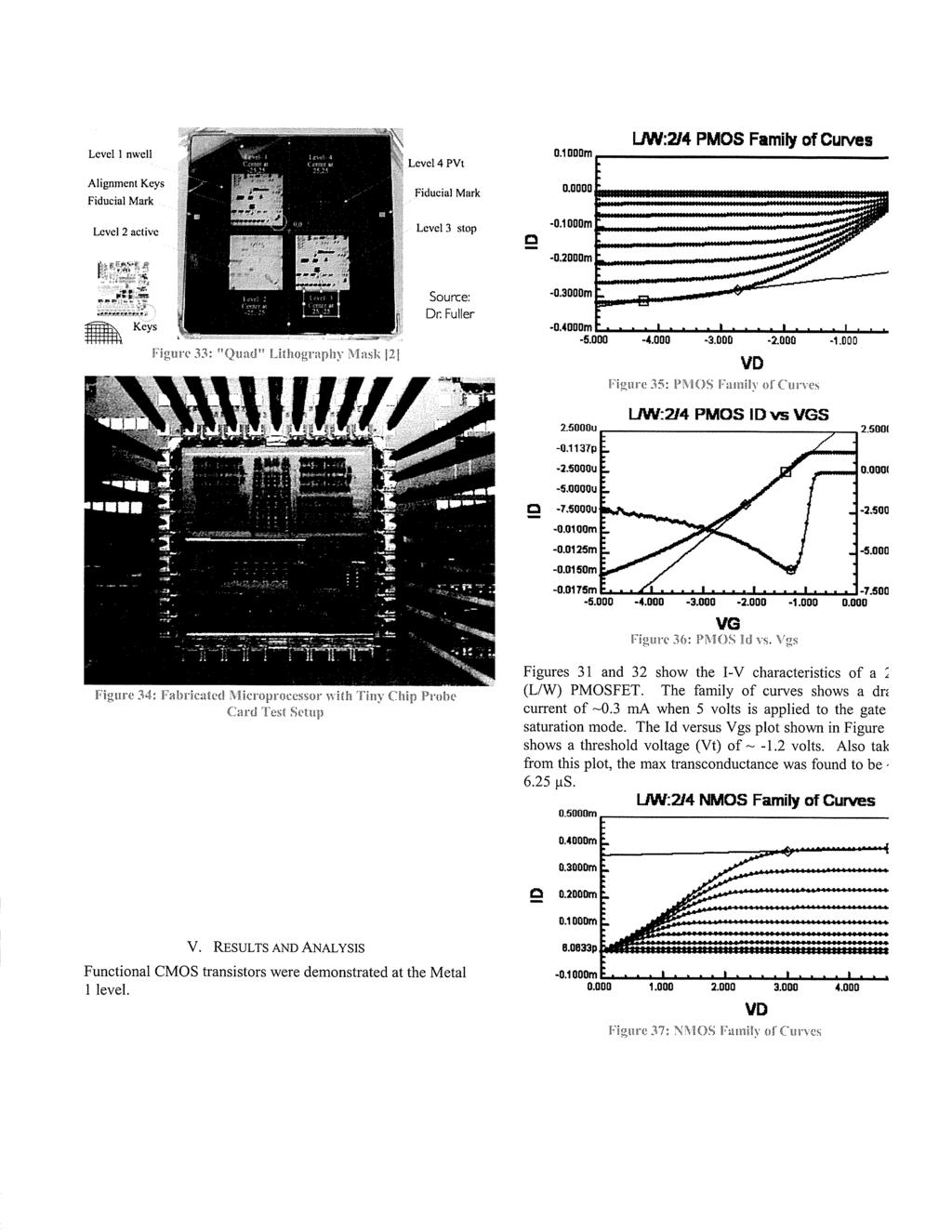 4 Bit Microprocessor Design Simulation Fabrication And Testing Pdf Alphanet Experiment 12 The Full Adder Level I Nwell Alignment Keys Fiducial Mark Lcvel4pvt Ljw214 Pmos Family Of