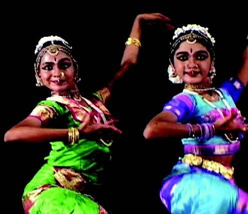 Bharatanatyam (India, South Asia) Bharatanatyam is a traditional dance-form known for its graceful, pure, tender, and sculptural poses.