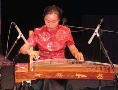 "Zheng (China, East Asia) The Zheng, commonly known as Guzheng, pronounced ""Goo-Zheng""), is a plucked string instrument that is part of the zither family."