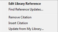 tab will reformat both the citations and reference list in the new style. 4.2.