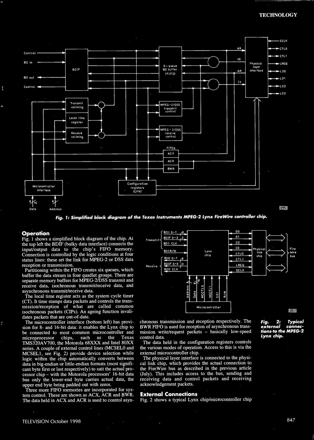 Fault Reports Tvs Vcrs Pc Monitors And Satellite Pdf Lm358 Op Amp Block Diagram Http Wwwtradeoficcom Circuit 790stereo 1 Simplified Of The Texas Instruments