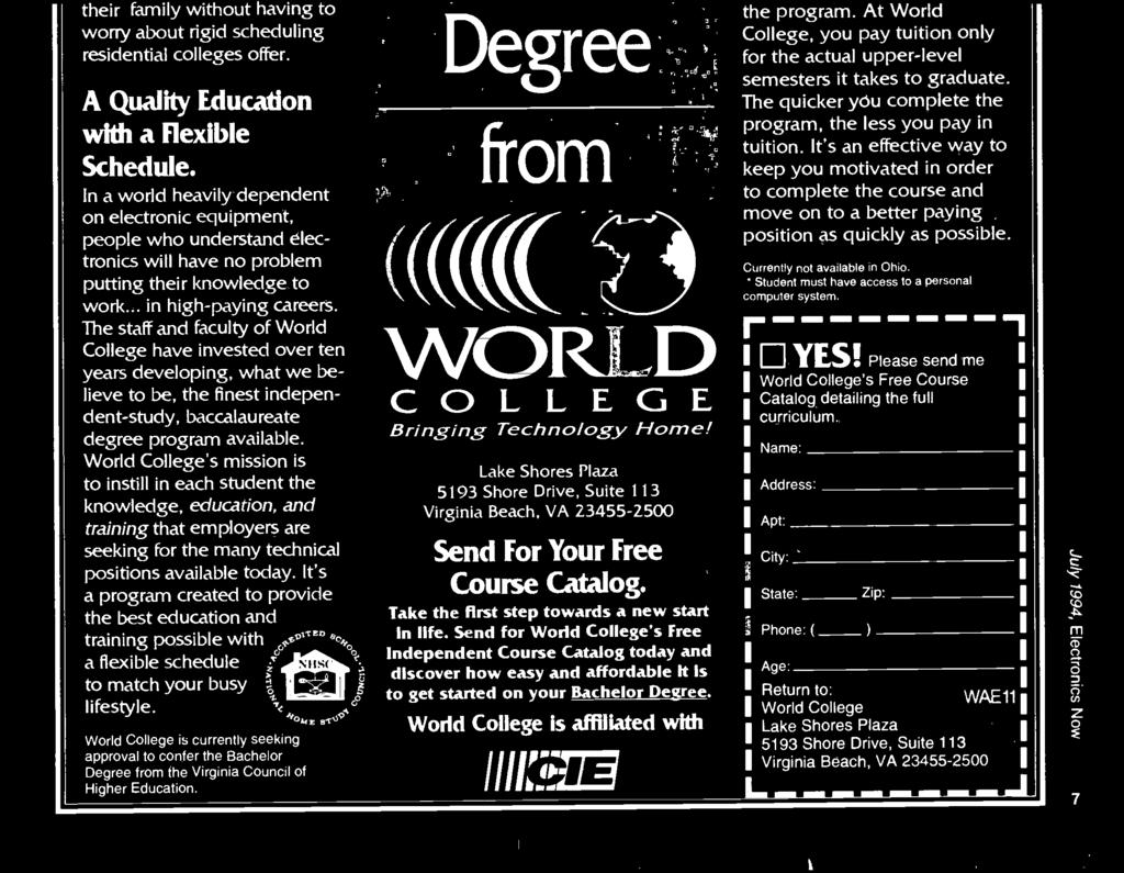 Electronics Build This Electronic Games Caller Id Ba1404 Stereo Encoder World Colleges Mission Is To Instill In Each Student The Knowledge Education And Training