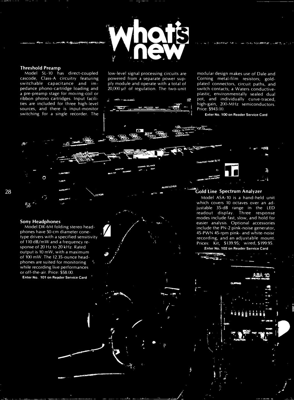 The Authoritative Magazine About High Fidelity December 1979 30hz To 90hz Adj Pa Driver Pot And Individually Curve Traced Gain 200 Mhz Semiconductors