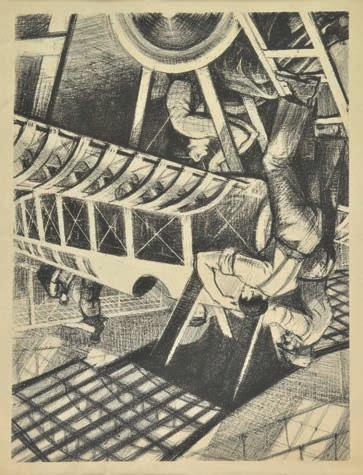 THE ART OF THE PRINT: 19TH & 20TH CENTURY FINE PRINTS Thursday 7 April 2016 C. R. W. Nevinson (1889-1946).
