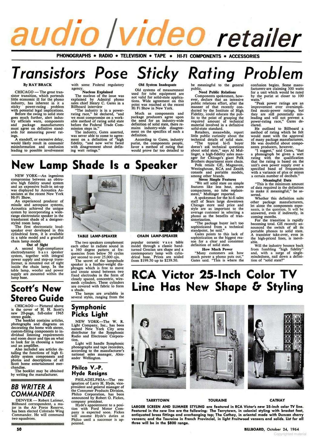 Tradesters Are Already Re Decca Records Firm Hold On The Original 1966 Mustang Philco Radio Wiring Diagram L Retailer Phonographs Television Tape Hi Fi Components Accessories Transistors Pose Sticky Rating