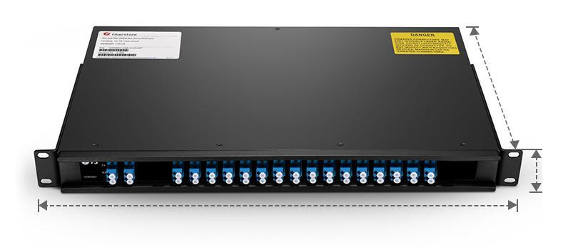 pigtailed ABS module, as well as the matched chassis. FLG plug-in module and FLG 3-slot 1U rack can also be provided.