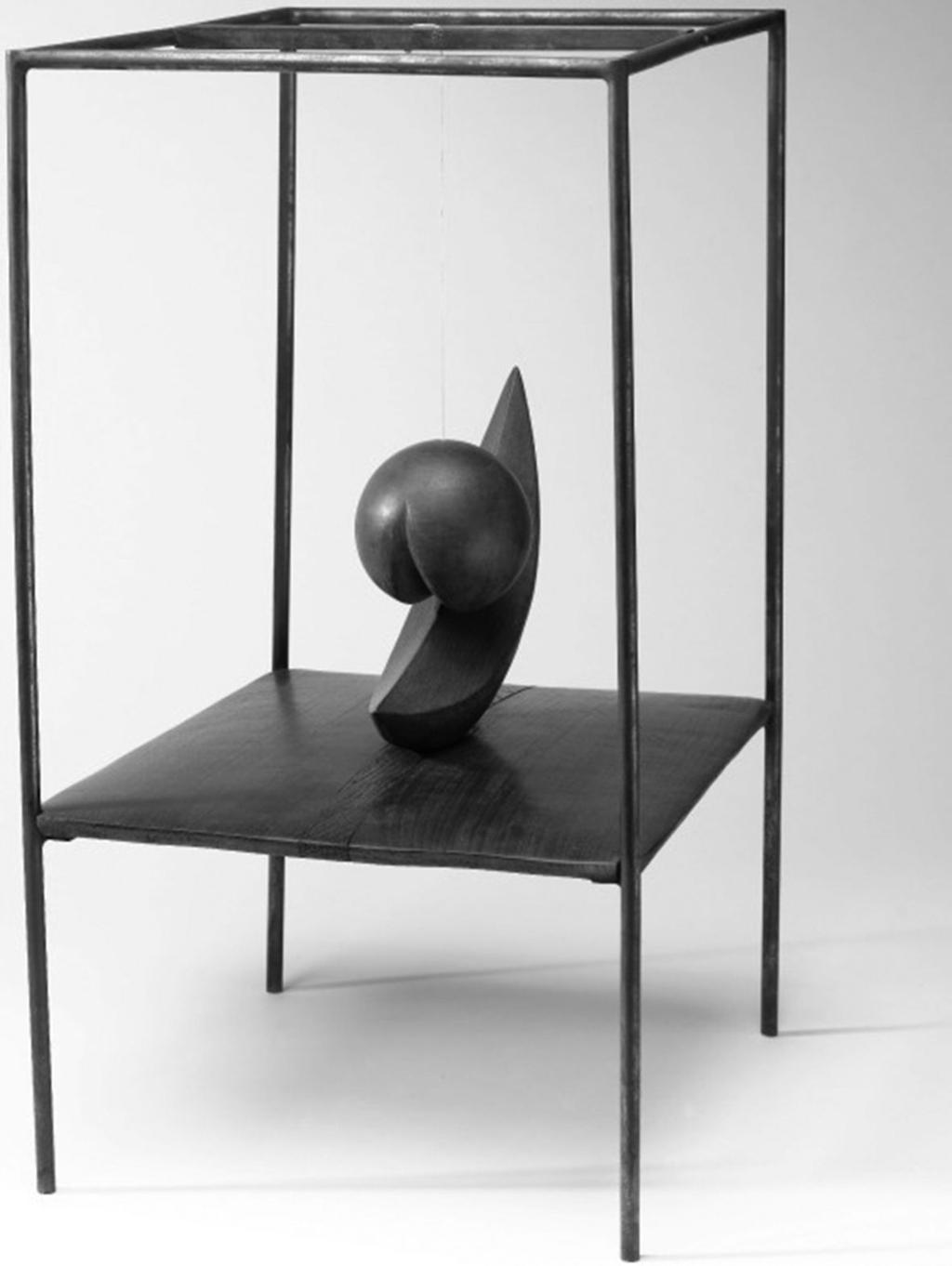 114 Raymond Spiteri Figure 3 Alberto Giacometti, Suspended Ball, 1930 31. Wood, iron and string, 60.4 cm 36.5 cm 34 cm. Musée nationale de l art moderne Centre Georges Pompidou, Paris.