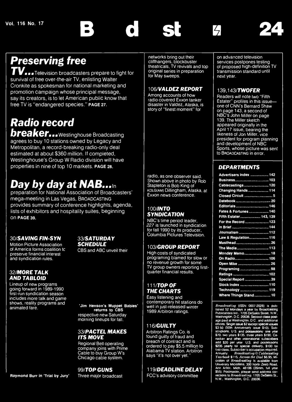 Broadcasting Ii Apr 24 Pdf Nakamichi Itower Apple Docking Speaker Ssf 351 Raymond Burr In Trial By Jury 33 Saturday Schedule Cbs And Abc Unveil