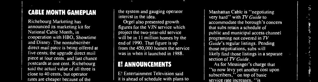 All programing will be produced locally, and distribution of the service will be through syndication of local cable channels.