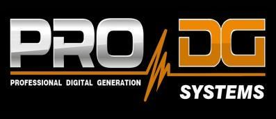Pro DG Systems. Passion for high quality More than 30 years of experience at the design, manufacture and selling of high quality and performance professional sound systems.