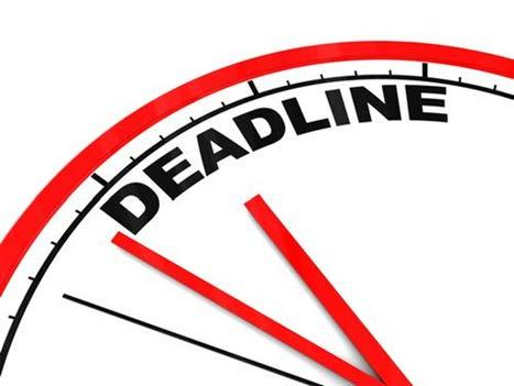 Final Deadlines December 9 (Friday): Fall Final Deadline All final requirements due to The Graduate School by
