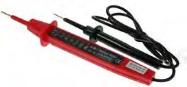 18.90 +VAT BUMPER STRIP 3 1/2-digit LCD display with blue background illumination.
