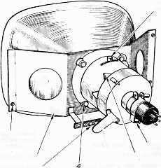 444 PRACTICAL TELEVISION loosened sufficiently the scratched. safety glass may be Boosting the Tube (A.C. Mains Only) Use a 6.3 volt plus boost C.R.T. isolating transformer.