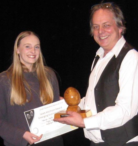 Players and Best Actor Female was Jo Cowey as Lily in The