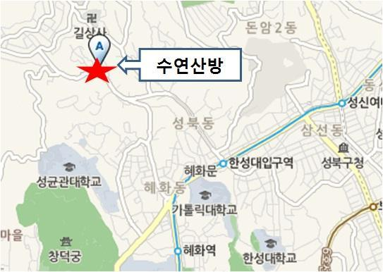 Parking information: Parking space available for 4 compact cars (reservation required) Street parking on Seongbukdaero for large-sized buses The traditional Korean house is divided into Bonchae (main